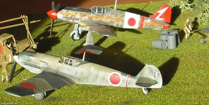 Messerschmitt Me109E-7/Z Japan