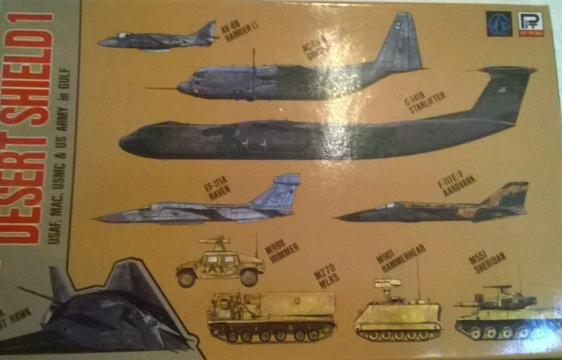 Desert Shield 1 Aircraft, Tanks
