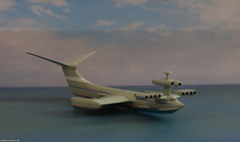 Alexejew Ekranoplan Caspian Sea Monster