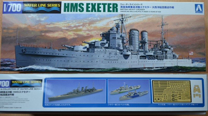 HMS Exeter Atlantic Fleet Convoy Strategy (Limited)