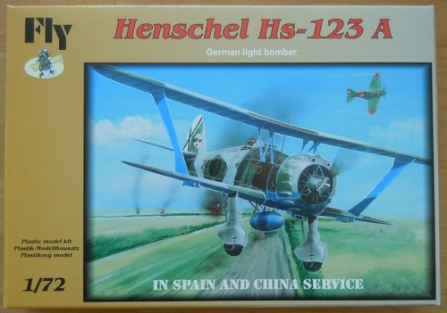 Henschel Hs123 A-1 China