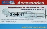 Messerschmitt Me109 E-0 mit Fanghacken W.Nr.1783 Conversion set