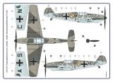 Messerschmitt Me 109 B-2 Mickey Mouse, Betty Boop / Limited Double Kit, Messerschmitt Me 109 B-2 Fluglehrerschule / Limited Double Kit